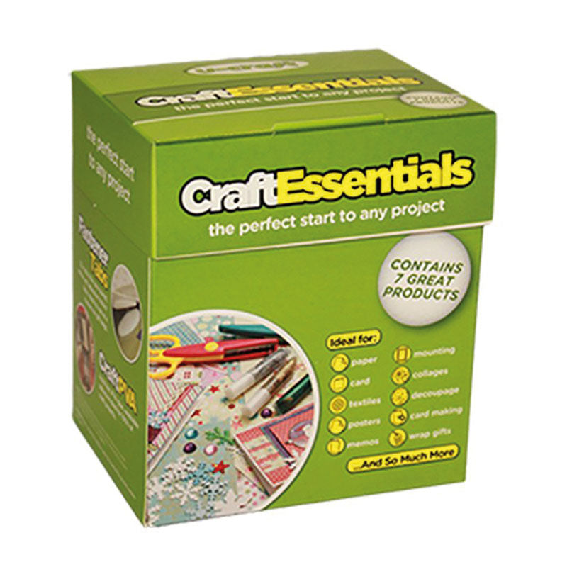 Craft Essentials - Combination pack full of craft adhesives