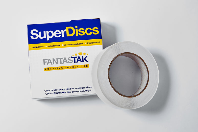 SuperDiscs - 2000 Discs per roll - 34mm diameter (3 options available)