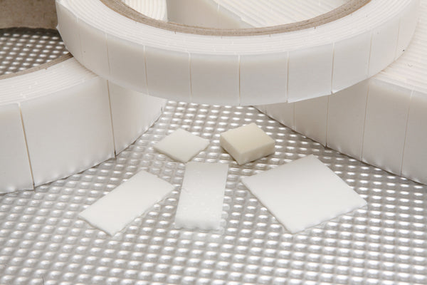 Double Sided, High Density SuperPads - 1500 x 12mmx12mmx4.3mm foam pads