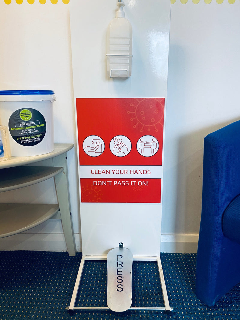 Hand Sanitising Station (Contactless)