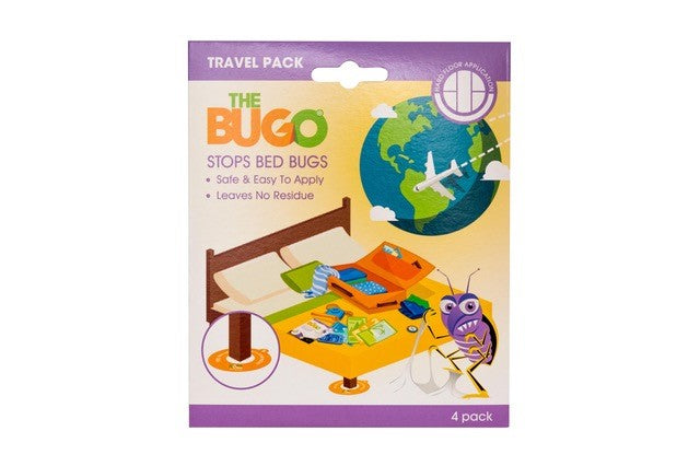 The Bugo - Travel Pack Hard Floor (4 Pack)