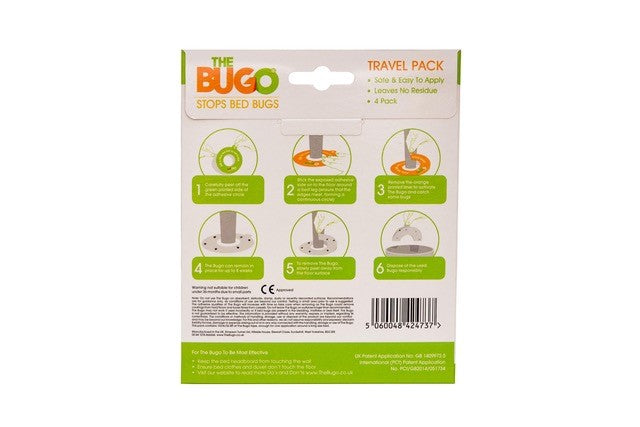 The Bugo - Travel Pack Soft Floor (4 Pack)