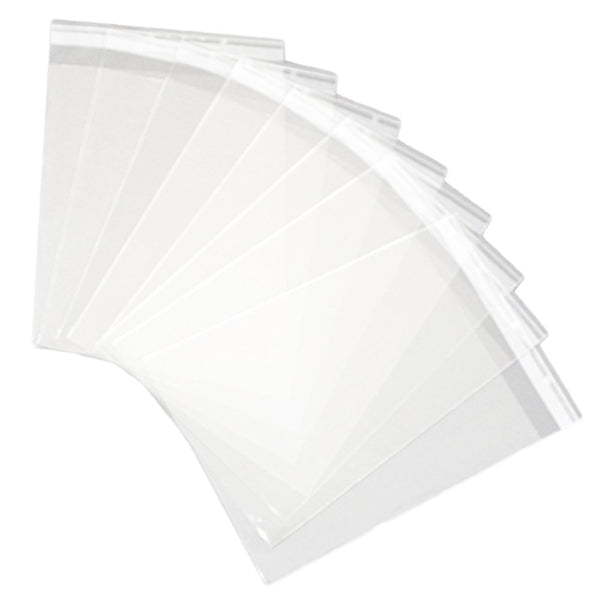 Cello Bags - Gift Card Bags With Self Seal Strip - 175mm X 200mm plus 60mm flap