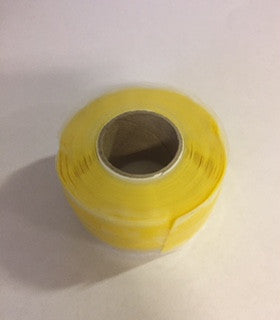 U-Fix Repair Tape (Self Amalgamating) - 25mm x 3m roll - White