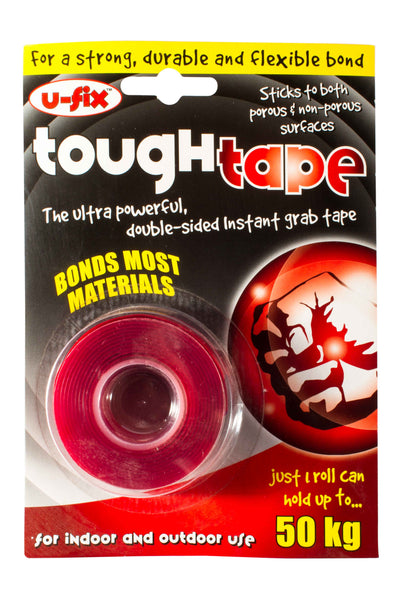 Tough Tape - Ultra powerful, double sided, instant grab tape.