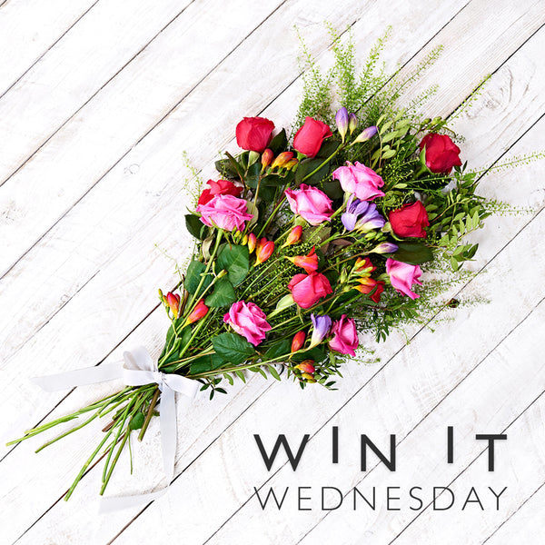 #WinItWednesday: Win flowers for you and your friends!