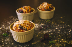 blueberry muffins mug cake mother's day