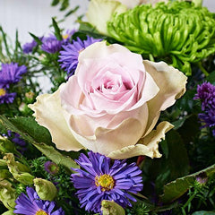 Lilac rose in Enchanted bouquet