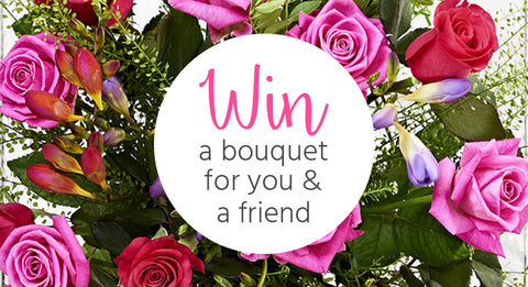 Win a bouquet