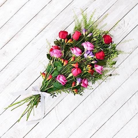 Enchanted hand-tied bouquet of flowers