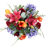 Sangria Flower Delivery - Mango Calla Lily & Carnation