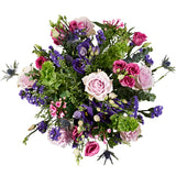 Secret Garden Flower Delivery - Lilac Roses & Lisianthus