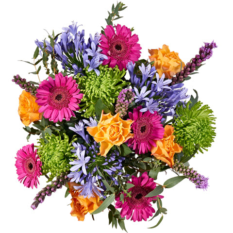 Starburst - Hand-tied Bouquets - Postabloom Flower delivery app