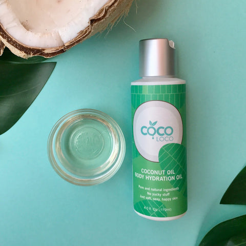 Coconut Oil Body Hydration Oil - Coco Loco Products