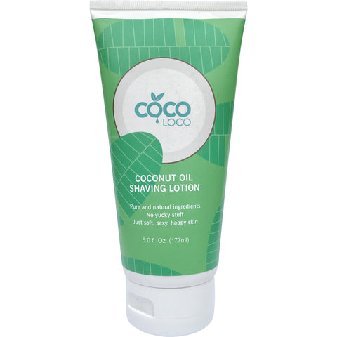 Coconut Oil Shaving Lotion - Coco Loco Products