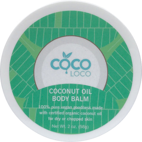 Coconut Oil Body Balm - Coco Loco Products