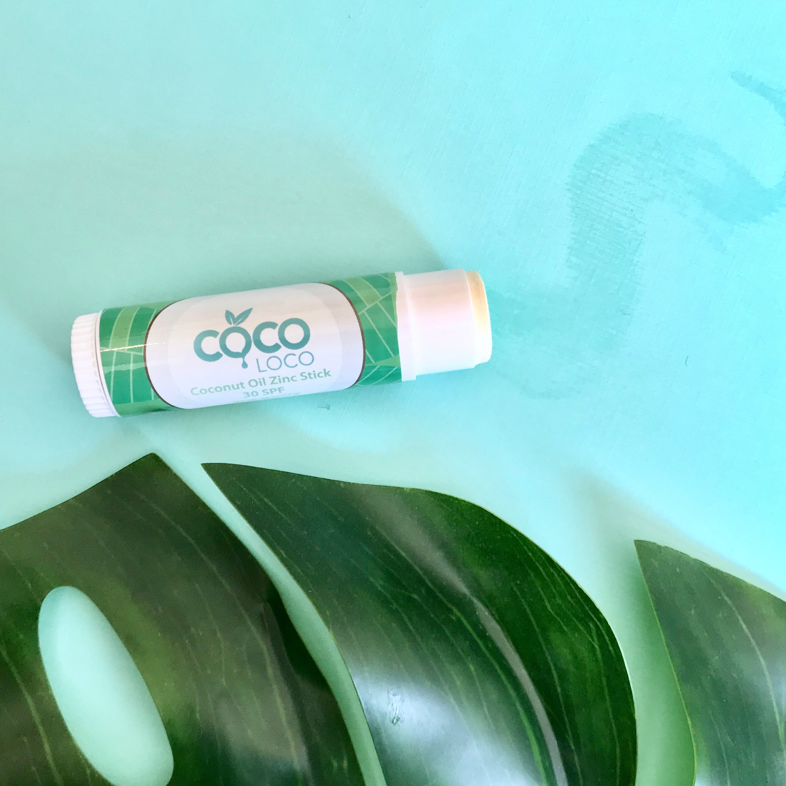 Coconut Oil Zinc Stick - SPF 30 - Coco Loco Products