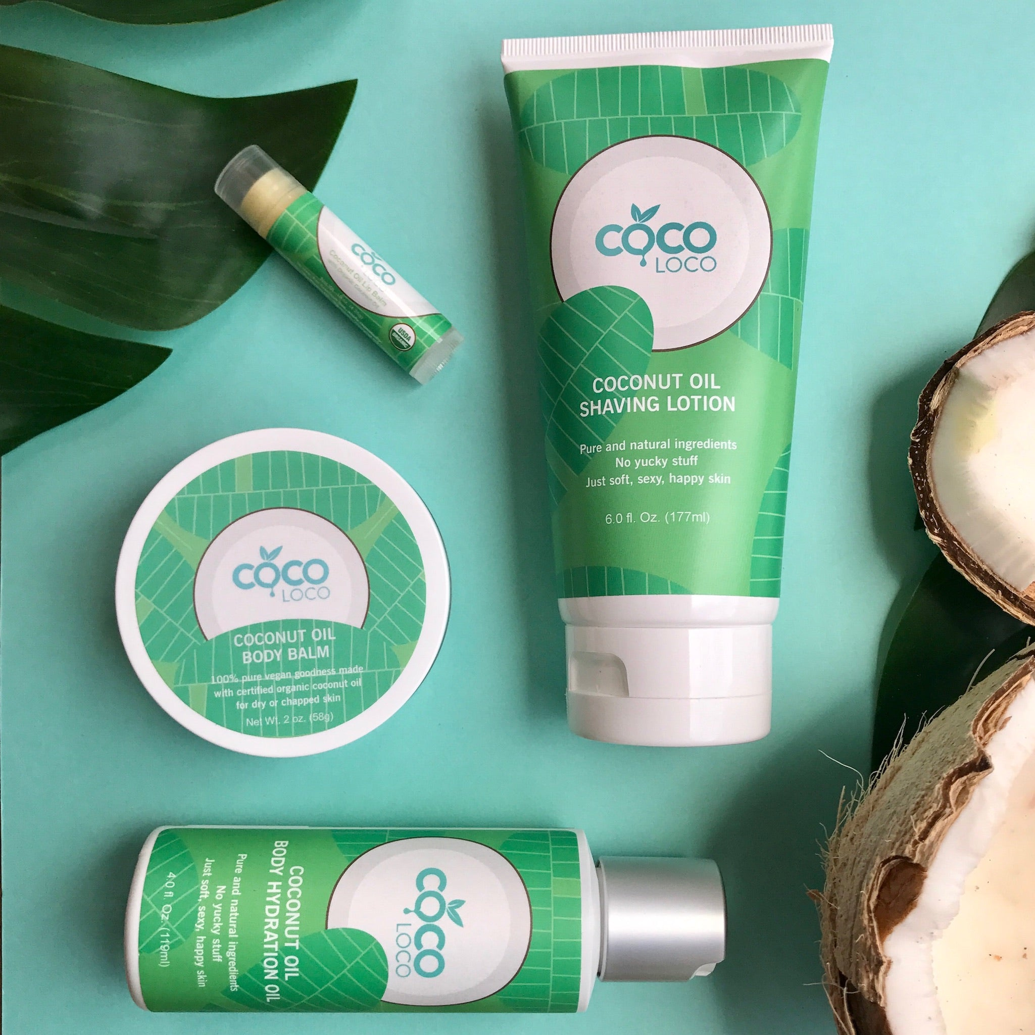 Coco Loco Paradise Pack (4 Bestsellers) - Coco Loco Products