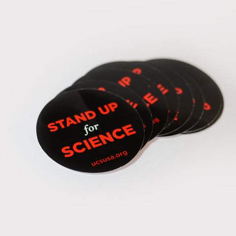 Stand Up for Science stickers