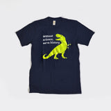 Kids' Without Science We're History tee-shirt