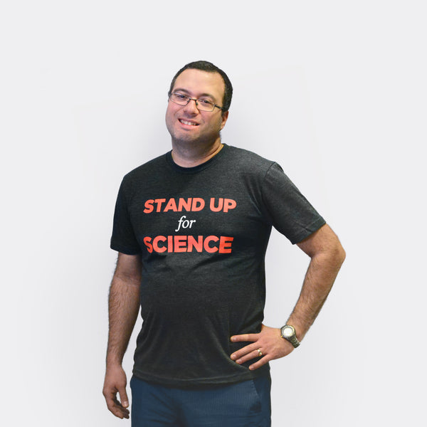 Stand Up for Science tee shirt