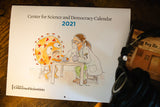 2021 Center for Science and Democracy Calendar