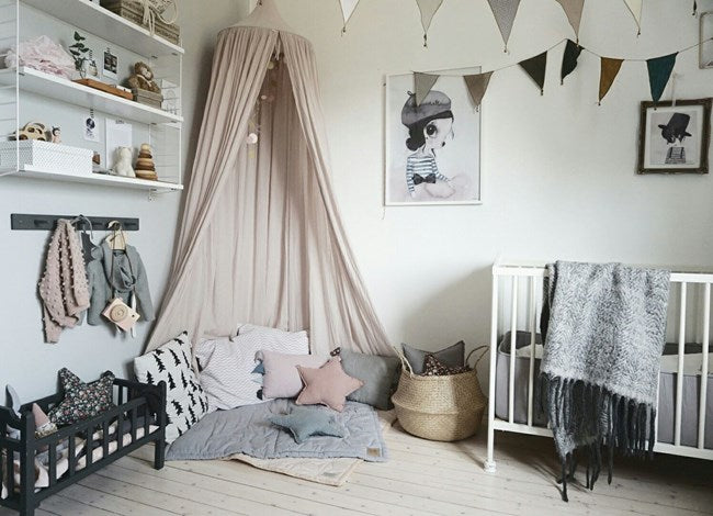 GET THE LOOK: modern nursery with soft pastel tones