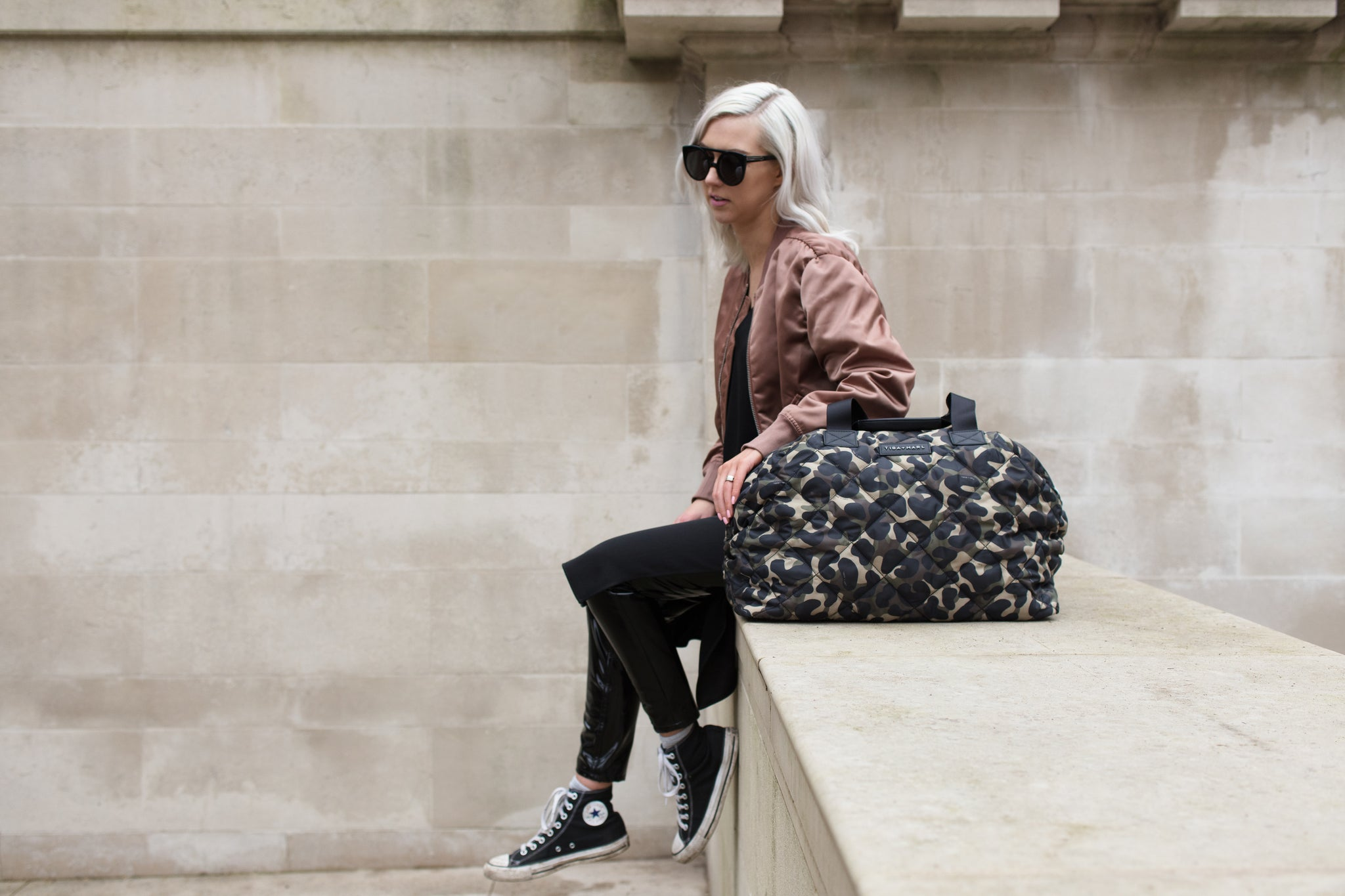 Tiba + Marl - stylish, unisex changing and weekend bags for modern parents