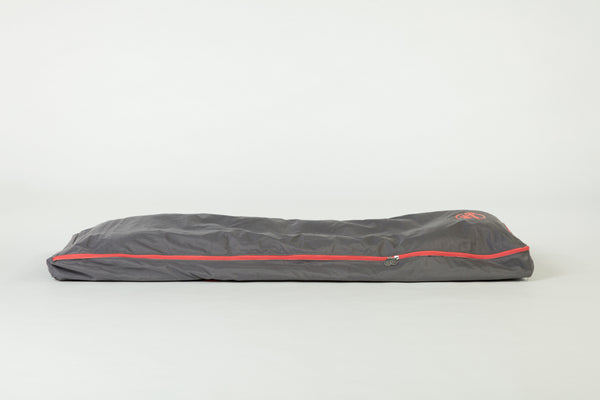 Bundle Beds - Campfire Grey Orange Camping, Glamping and Sleepover Bed - Sleep Anywhere. 10% discount for newsletter subscribers
