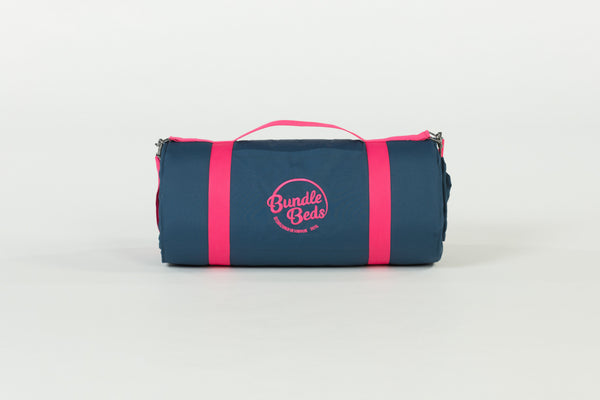BUNDLE BEDS - Navy Bed with Pink