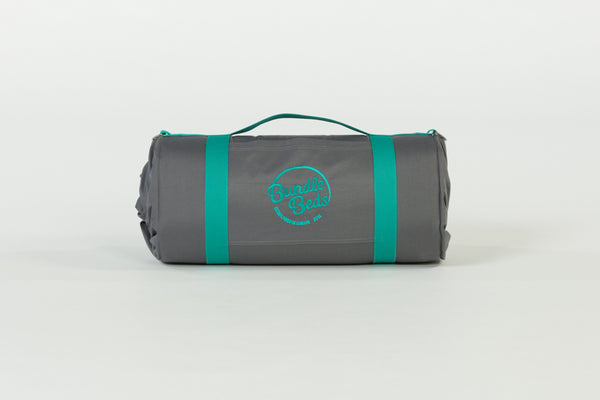 Bundle Beds - Ocean Grey Teal Camping, Glamping and Sleepover Bed - Sleep Anywhere. 10% discount for newsletter subscribers