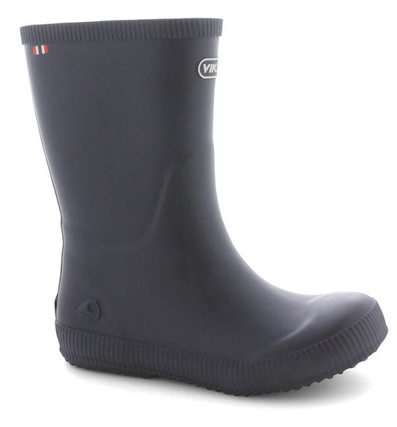 VIKING - Classic Indie Rubber Wellies - Navy Blue