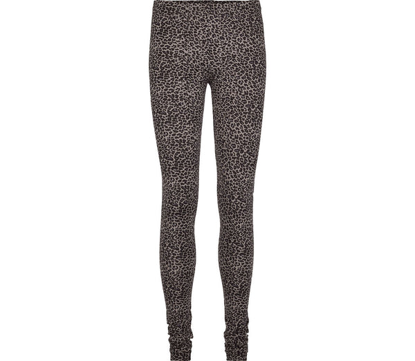 MARMAR COPENHAGEN Mama Leggings in Leopard Print Grey Stylish Modern Danish Scandinavian