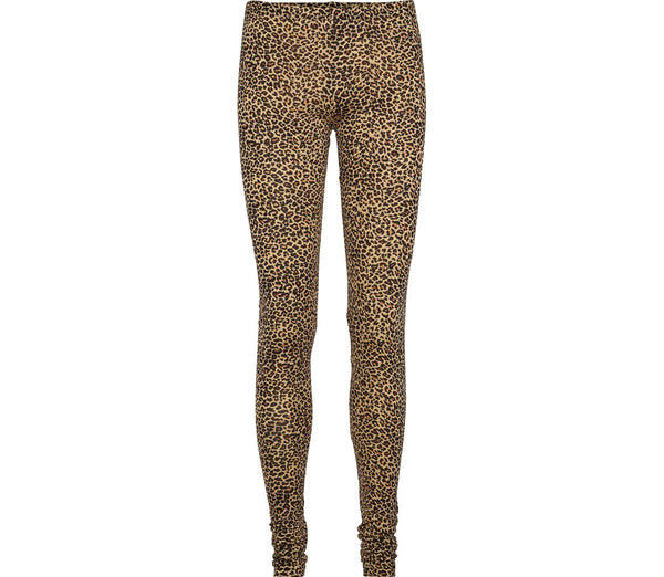 MARMAR COPENHAGEN Mama Leggings in Leopard Print Brown Stylish Modern Danish Scandinavian