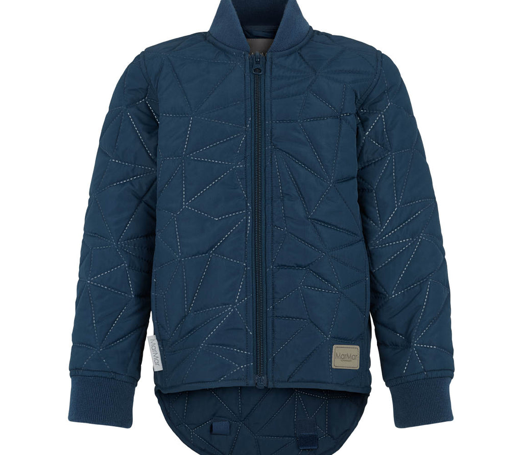 MarMar Copenhagen Danish Design clothing kids adults Scandinavian modern stylish cool orry thermal quilted jacket