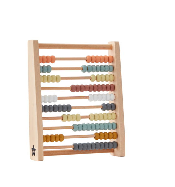 KID'S CONCEPT - Abacus - Grey Multi