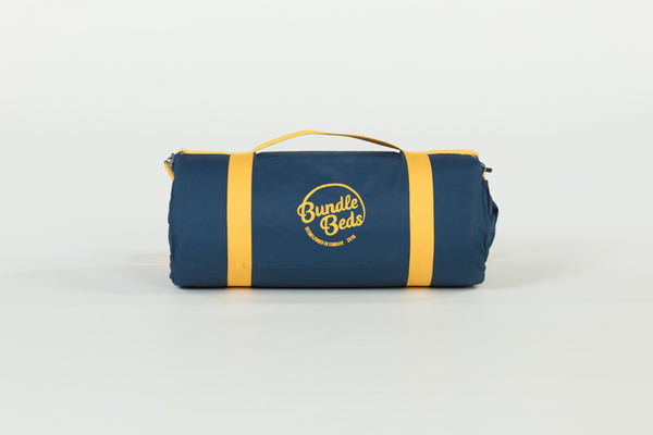 BUNDLE BEDS - Navy Bed with Yellow