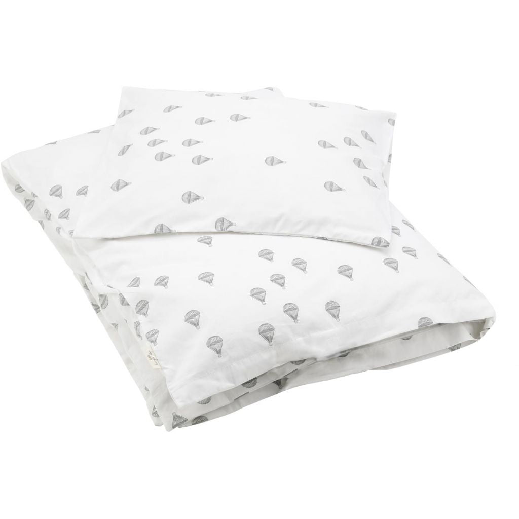 KONGES SLØJD - Cot Bed Duvet Set - Parachutes