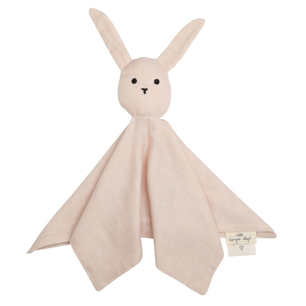 KONGES SLØJD - Sleepy Rabbit Comforter - Light Rose