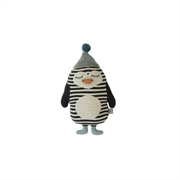 OYOY - Cushion Soft Toy - Baby Bob Penguin