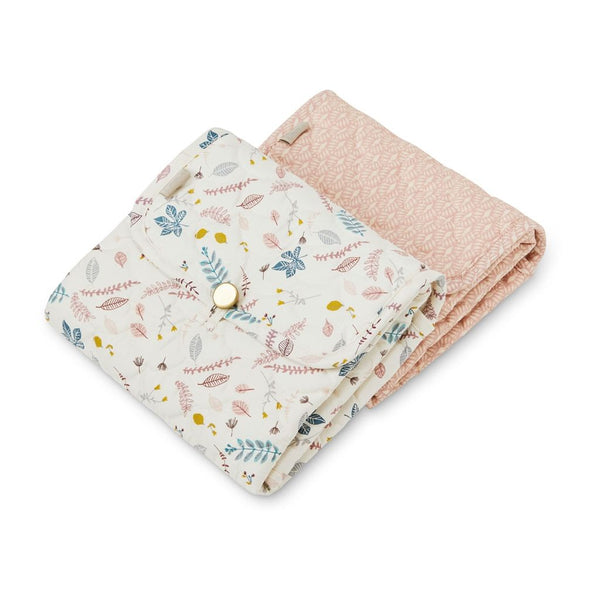 CAM CAM COPENHAGEN - Quilted Changing Mat - Pressed Leaves Rose