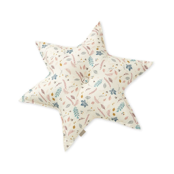 CAM CAM COPENHAGEN - Star Cushion - Pressed Leaves Rose