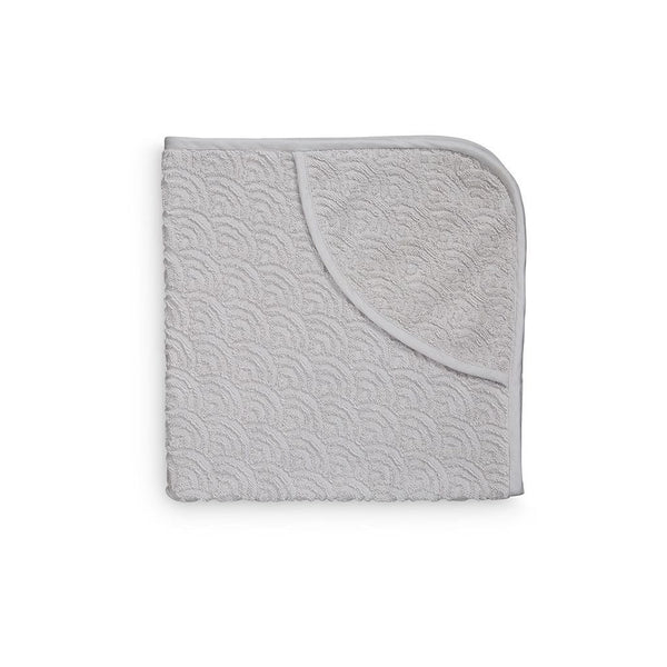 CAM CAM COPENHAGEN - Baby Hooded Towel - Grey