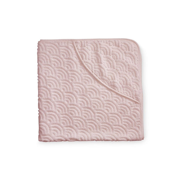 CAM CAM COPENHAGEN - Baby Hooded Towel - Rose Pink