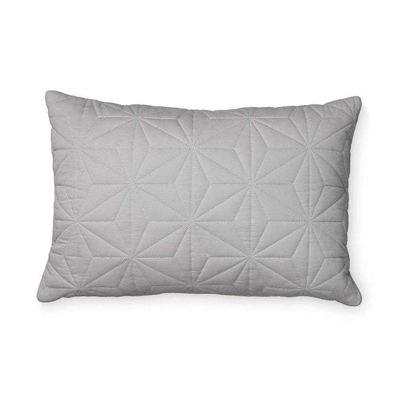 CAM CAM COPENHAGEN - Rectangular Quilted Cushion - Grey