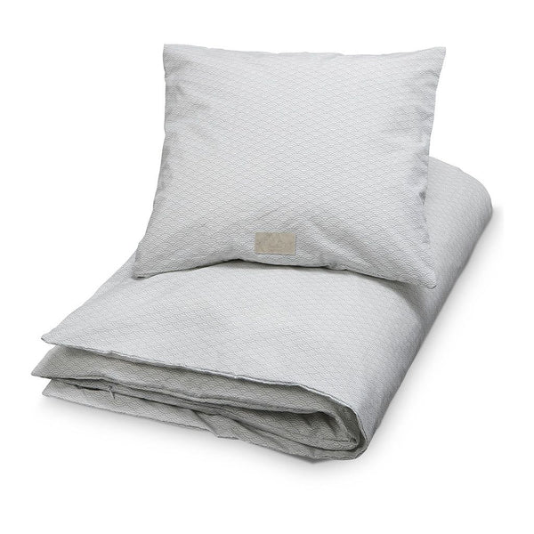 CAM CAM COPENHAGEN - Single Bed Bedding - Grey Wave