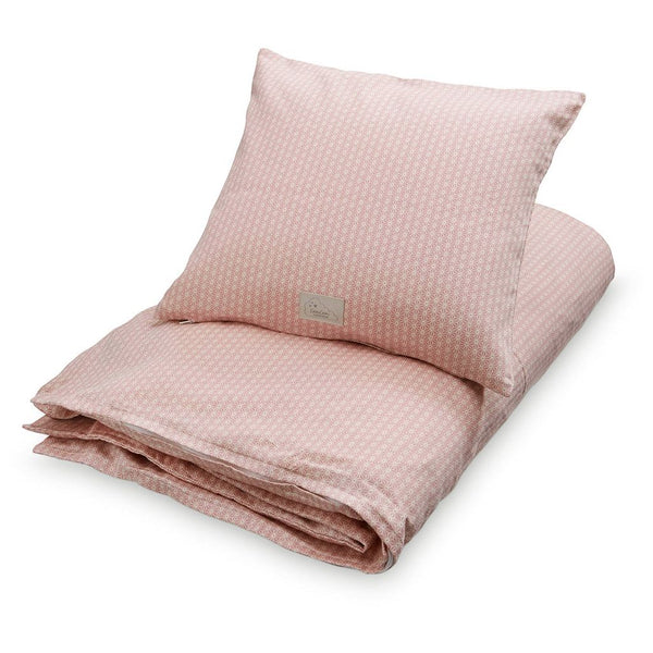 CAM CAM COPENHAGEN - Single Bed Bedding - Sashiko Blush