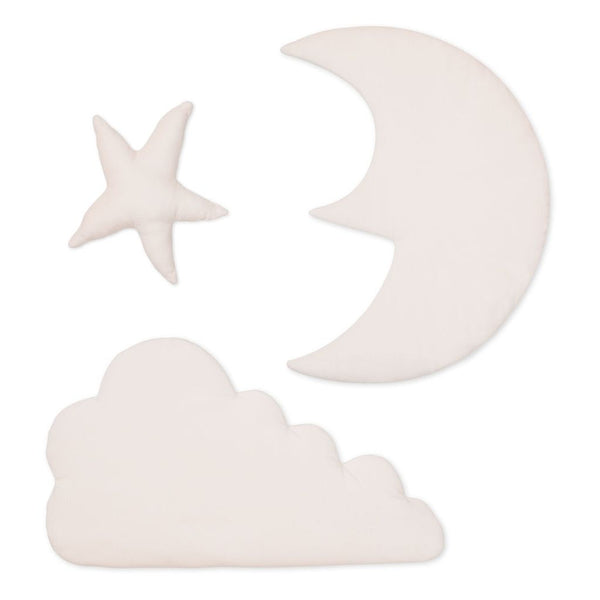 CAM CAM COPENHAGEN - Cloud, Moon and Star Wall Decoration - Rose