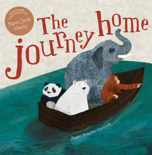 BOOK - The Journey Home by Frann Preston-Gannon