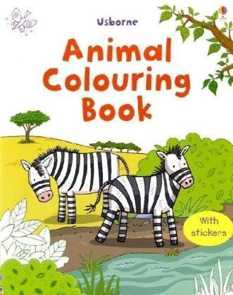 BOOK - FIRST COLOURING BOOK: ANIMALS